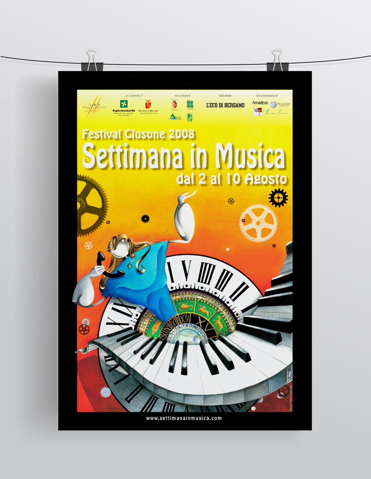 Settimana in Musica - Locandina 2008