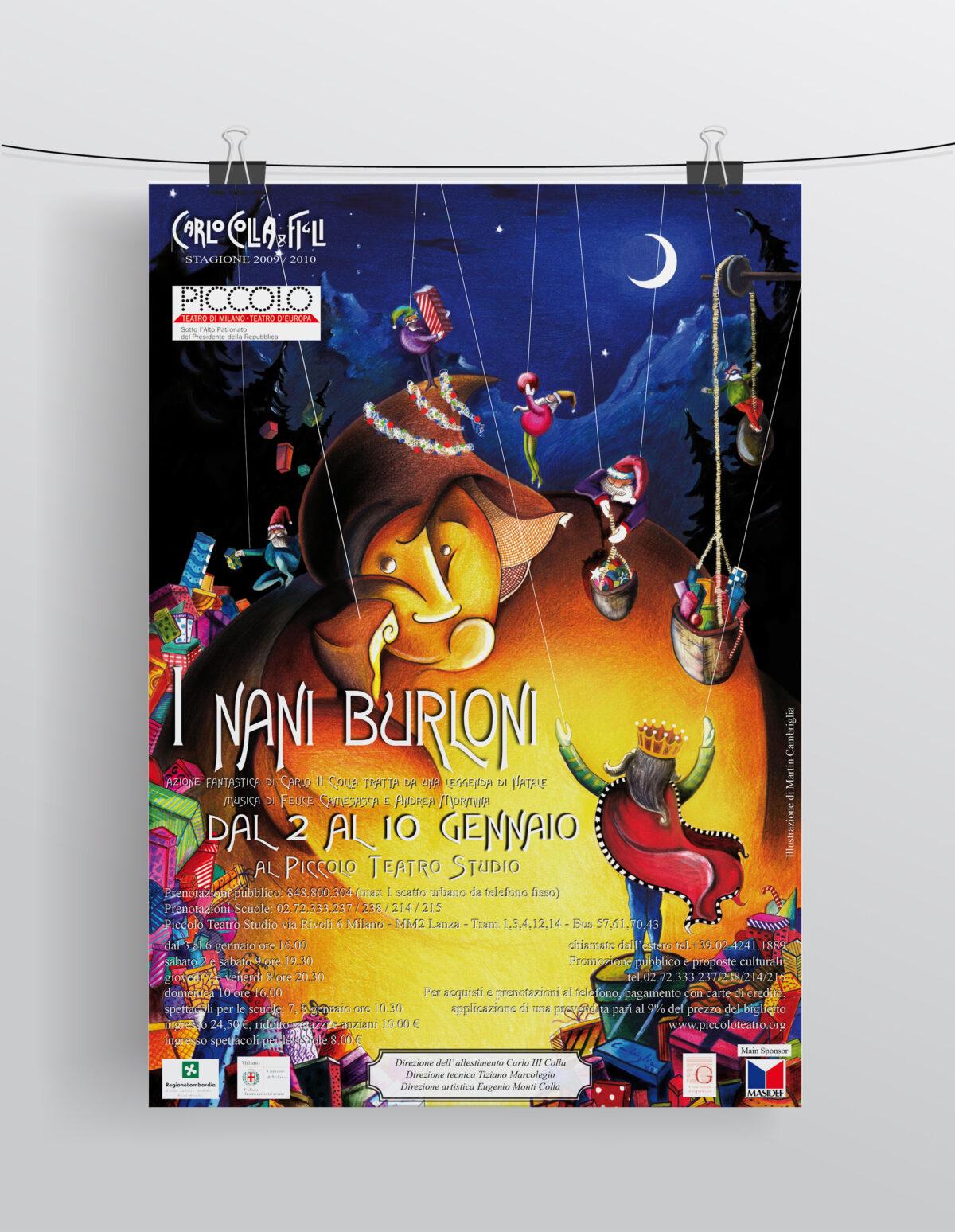 """""""I Nani Burloni"""" Compagnia Marionettistica Carlo Colla & Figli"""