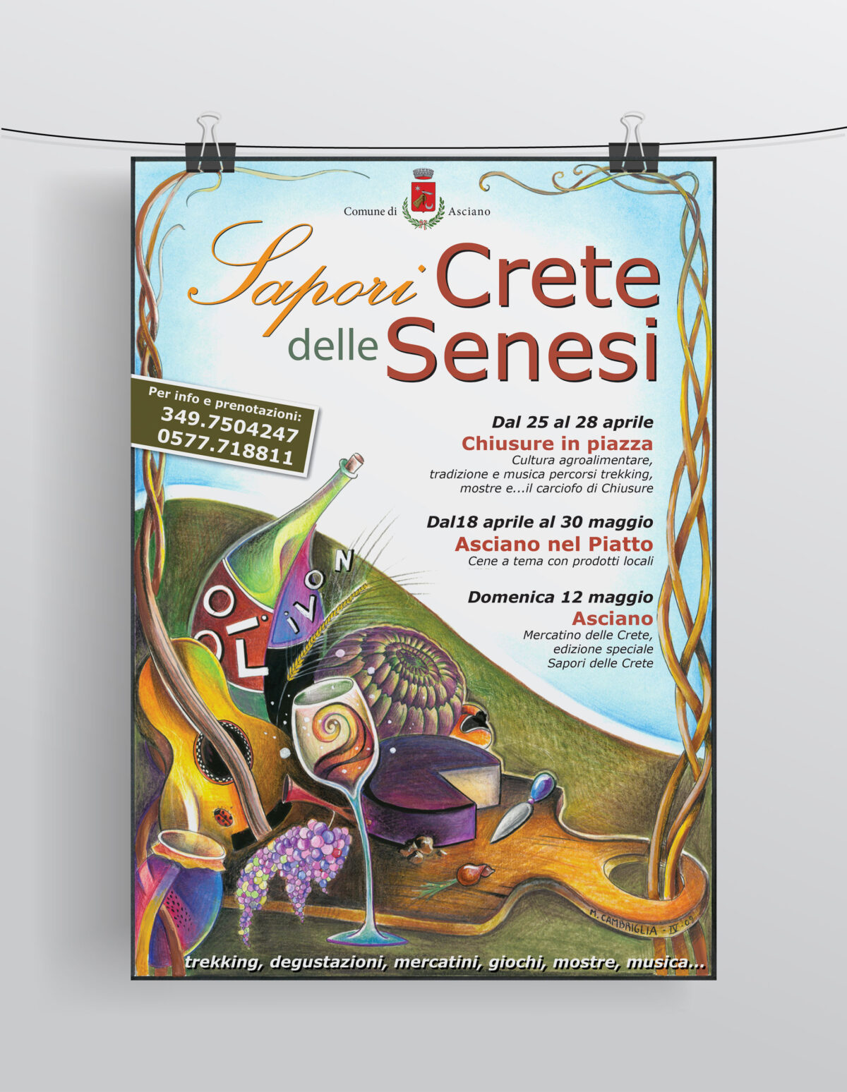 Sapori delle Crete Senesi - Locandina 2010