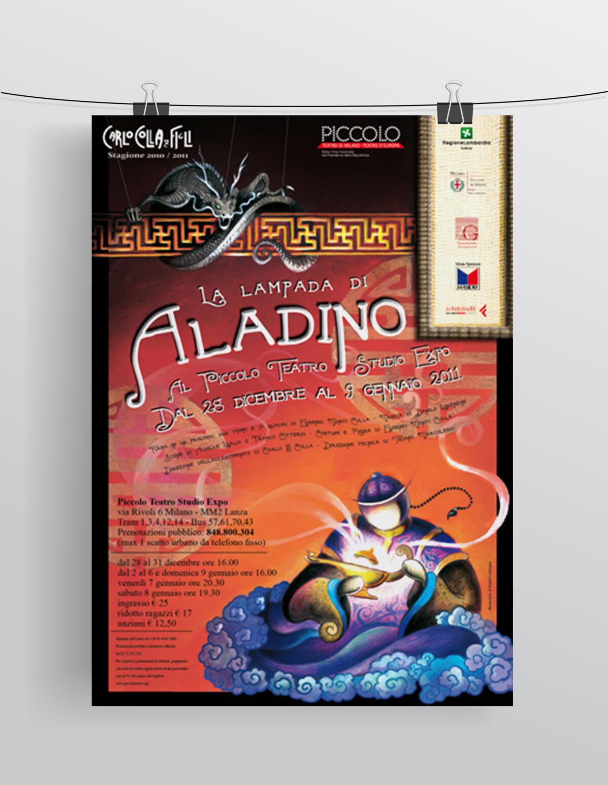 """""""Aladino"""" Compagnia Marionettistica Carlo Colla & Figli"""