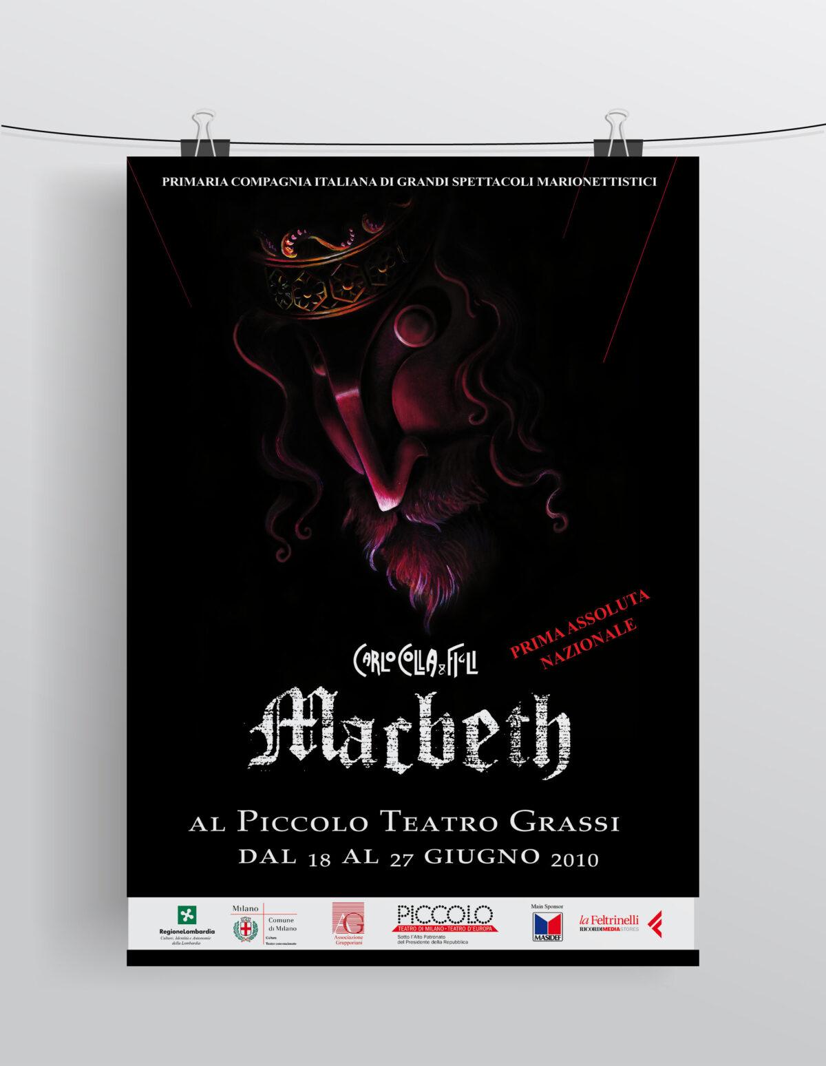 """""""Macbeth"""" Compagnia Marionettistica Carlo Colla & Figli"""