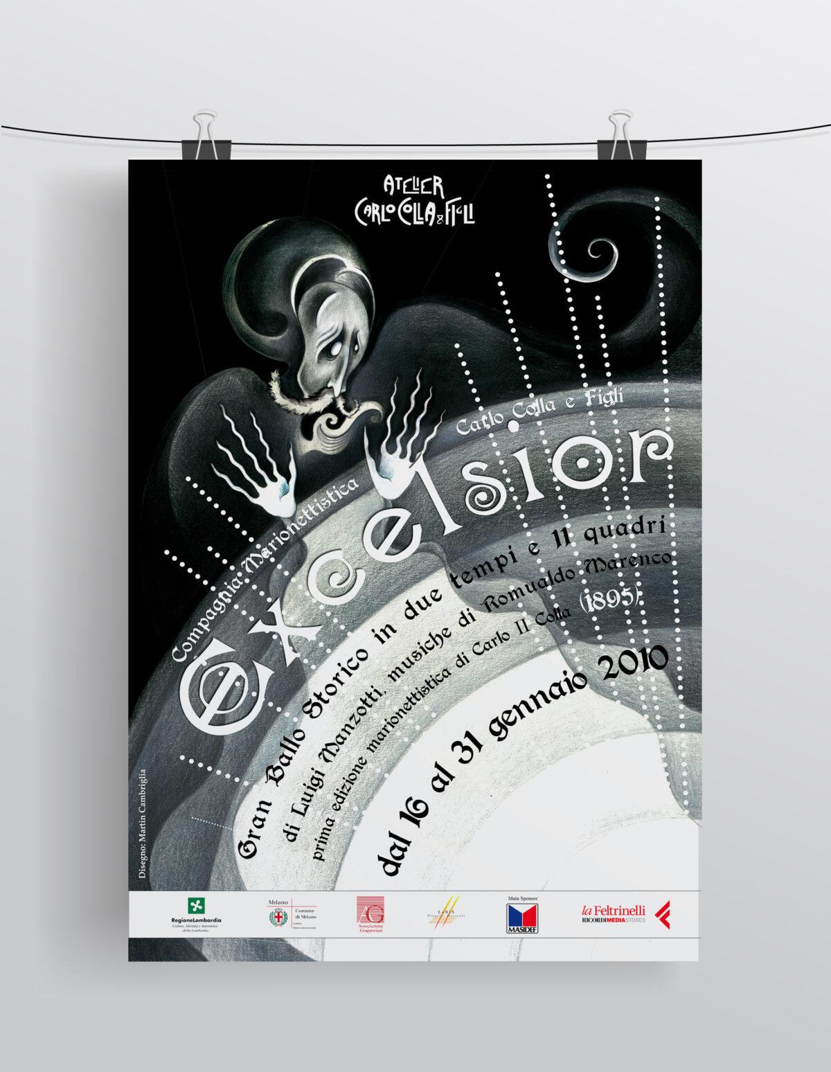"""""""Excelsior"""" Compagnia Marionettistica Carlo Colla & Figli"""
