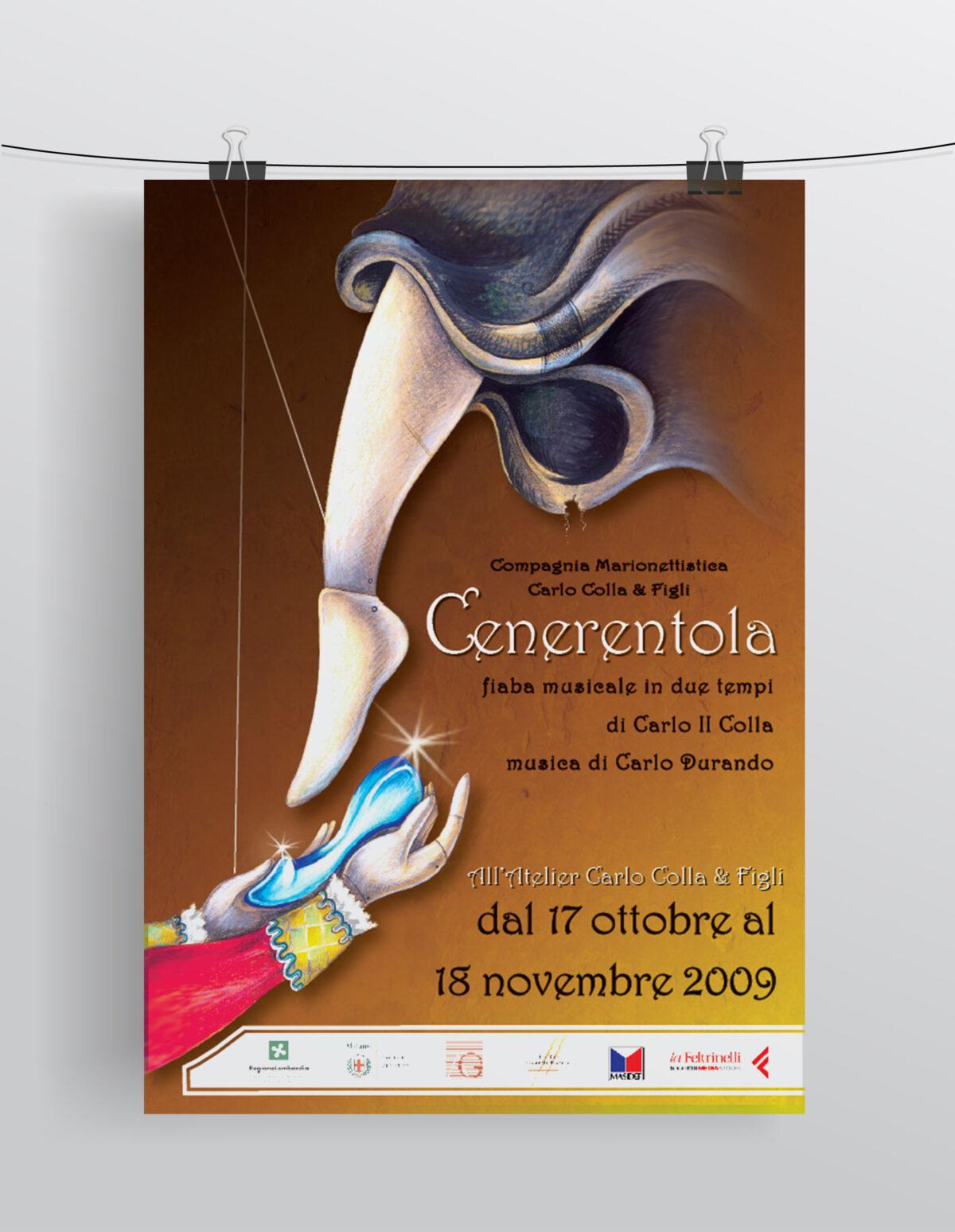 """""""Cenerentola"""" Compagnia Marionettistica Carlo Colla & Figli"""