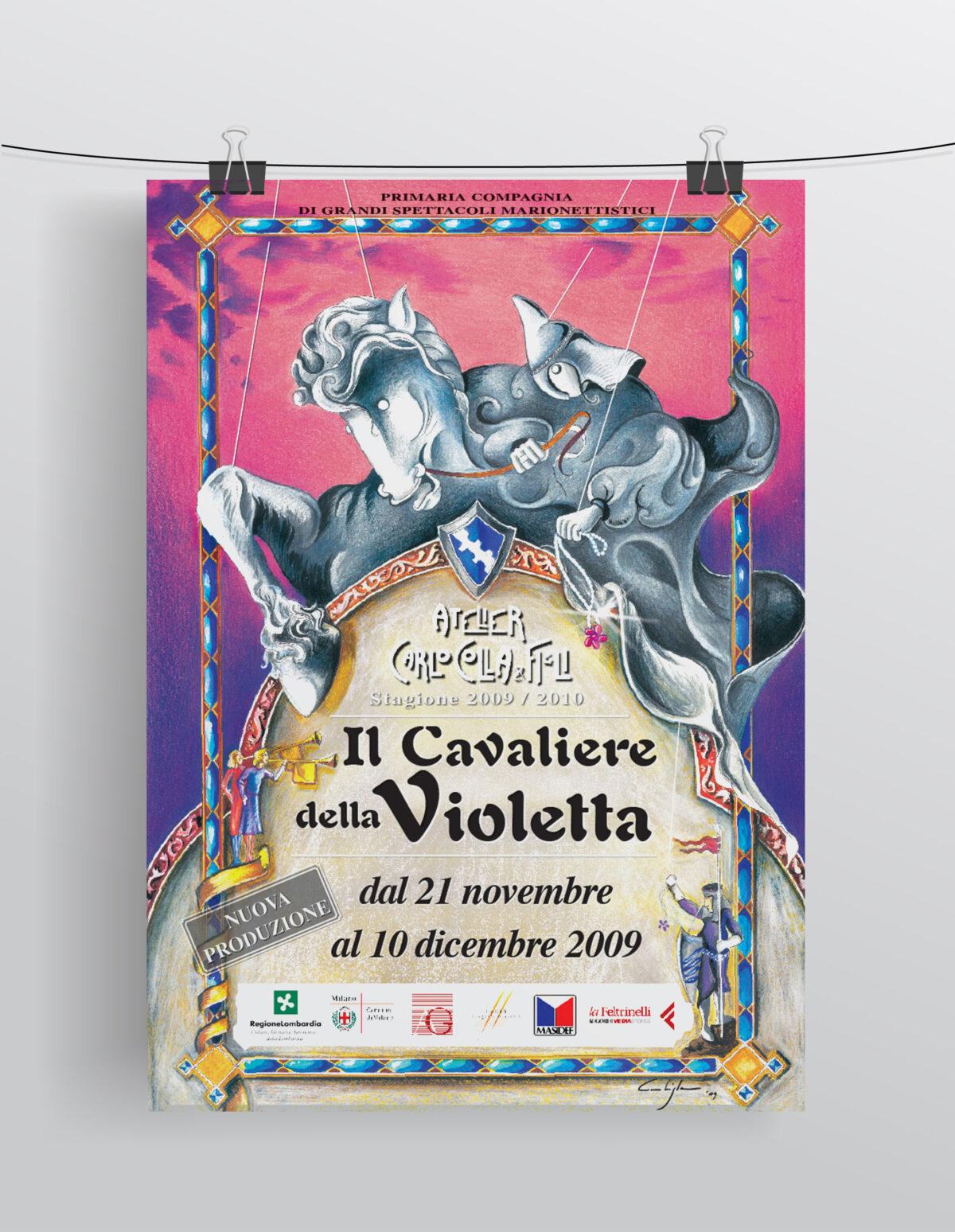 """""""Il Cavaliere della Violetta"""" Compagnia Marionettistica Carlo Colla & Figli"""