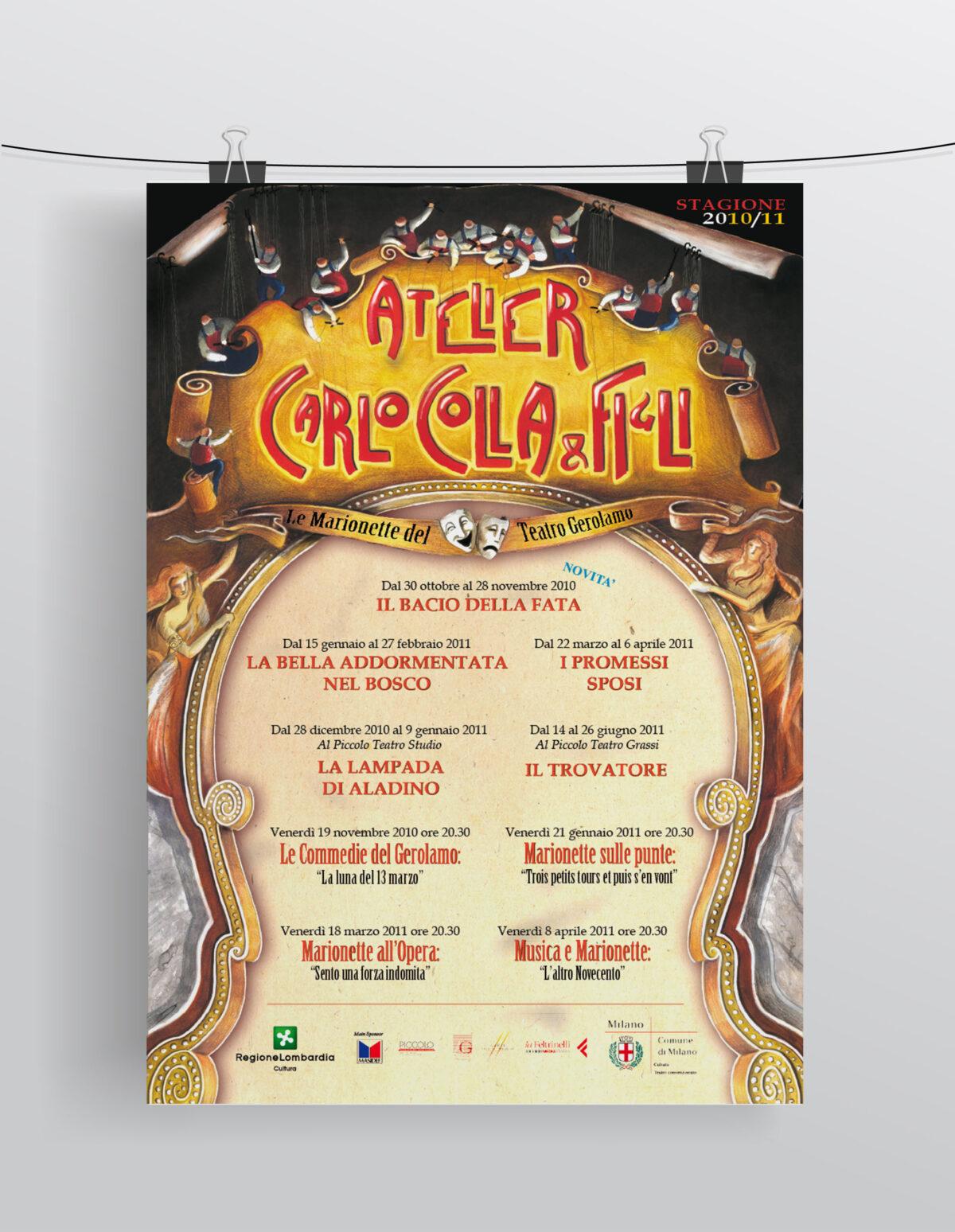 """""""Stagione 2010/2011"""" Compagnia Marionettistica Carlo Colla & Figli"""