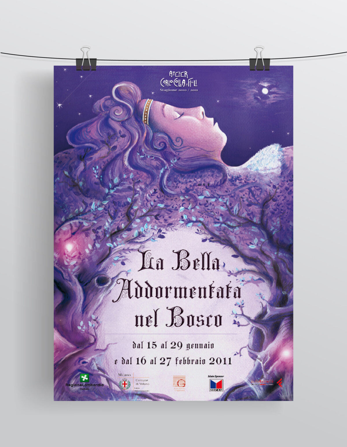 """""""La Bella Addormentata nel Bosco"""" Compagnia Marionettistica Carlo Colla & Figli"""