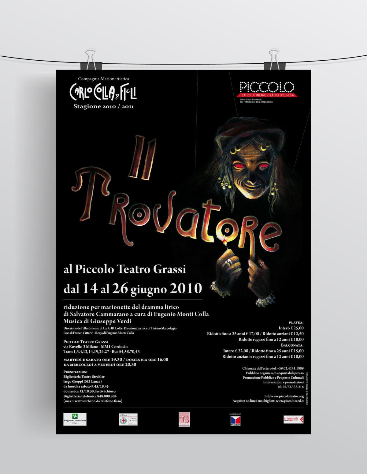 """""""Il Trovatore"""" Compagnia Marionettistica Carlo Colla & Figli"""