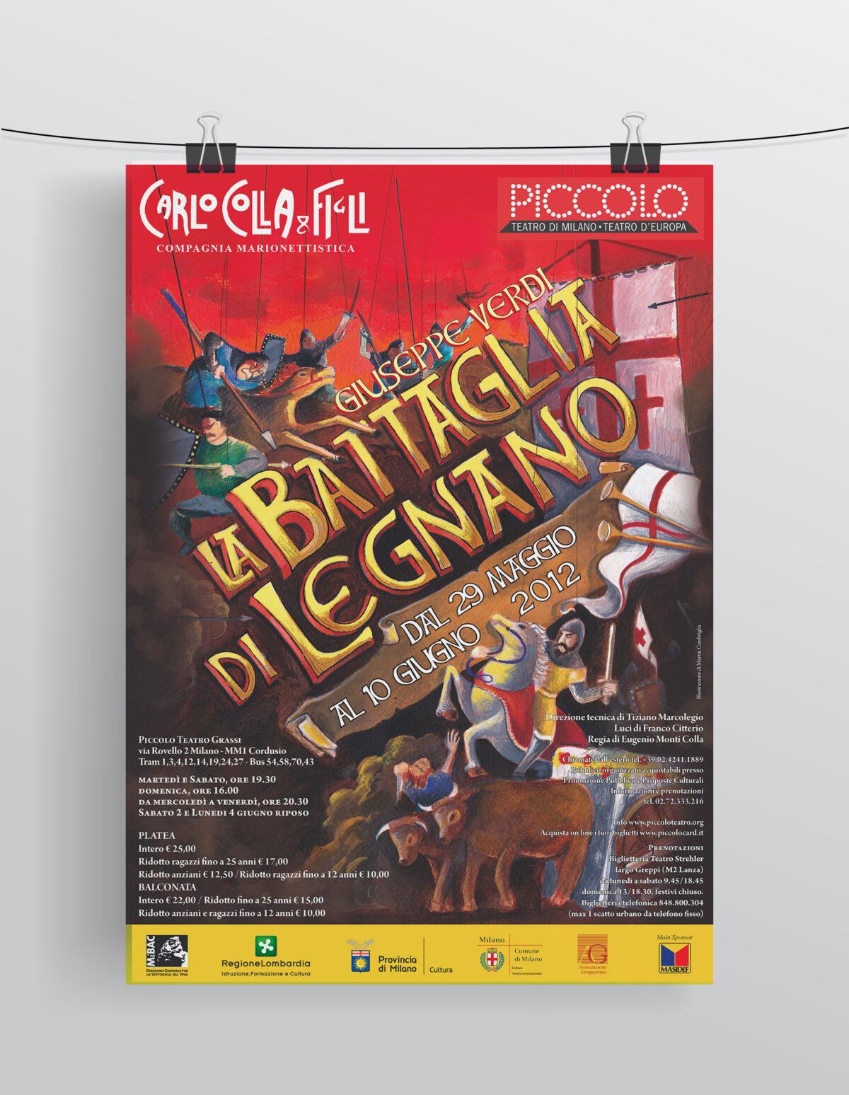 """""""La Battaglia di Legnano"""" Compagnia Marionettistica Carlo Colla & Figli"""
