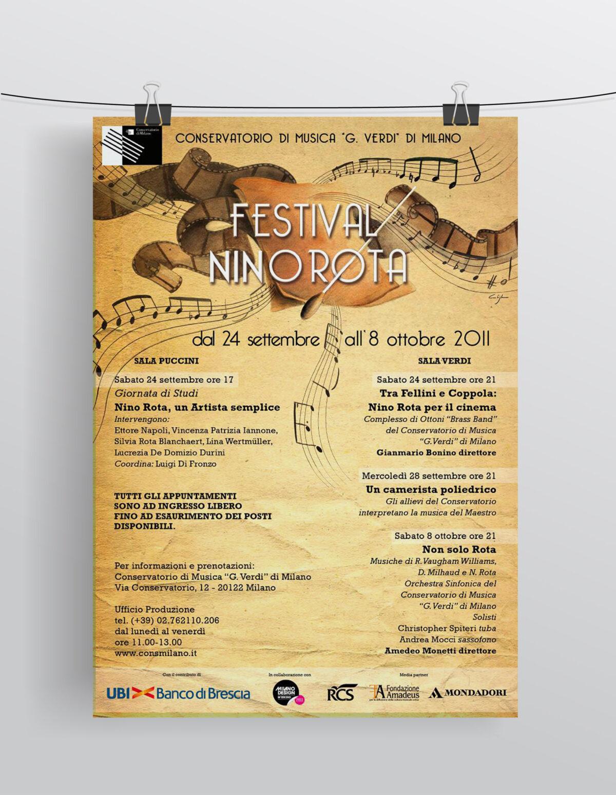 Festival Nino Rota - Locandina 2011