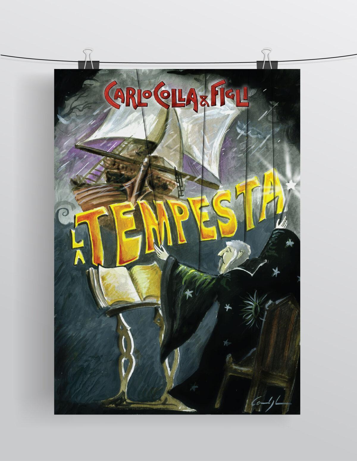"""""""La Tempesta"""" Compagnia Marionettistica Carlo Colla & Figli"""