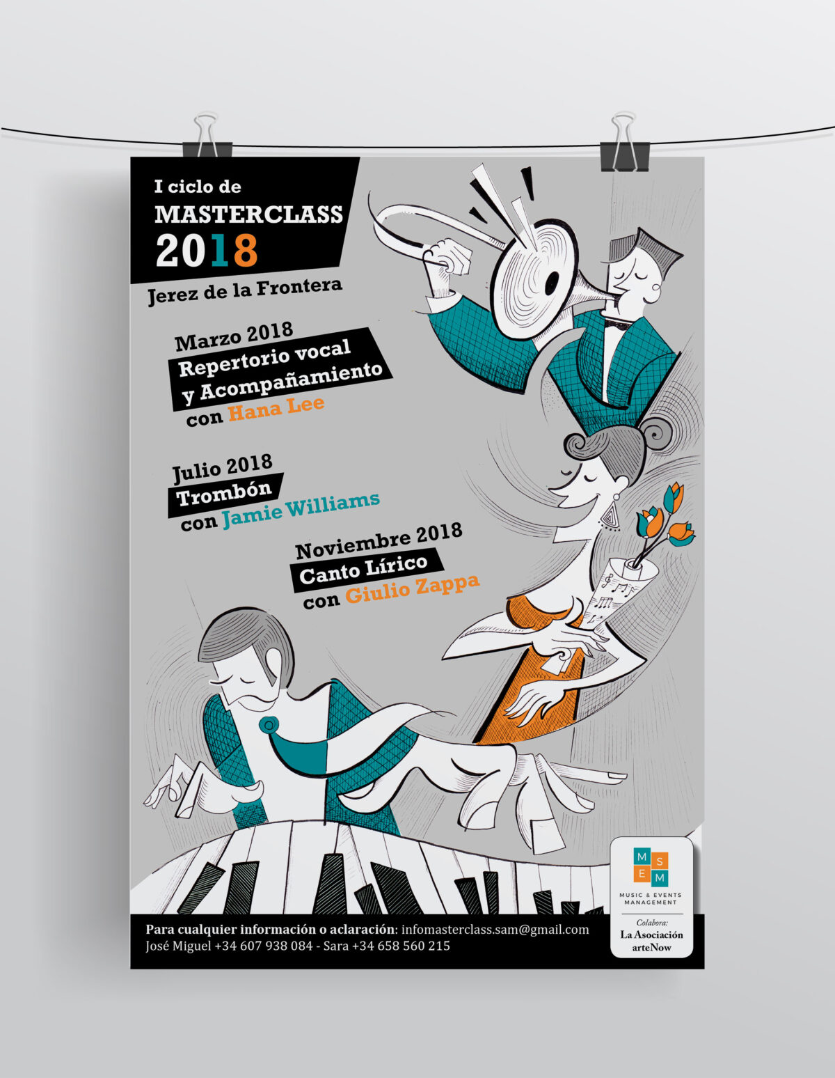 Masterclass Jerez de la Frontera - Locandina 2018