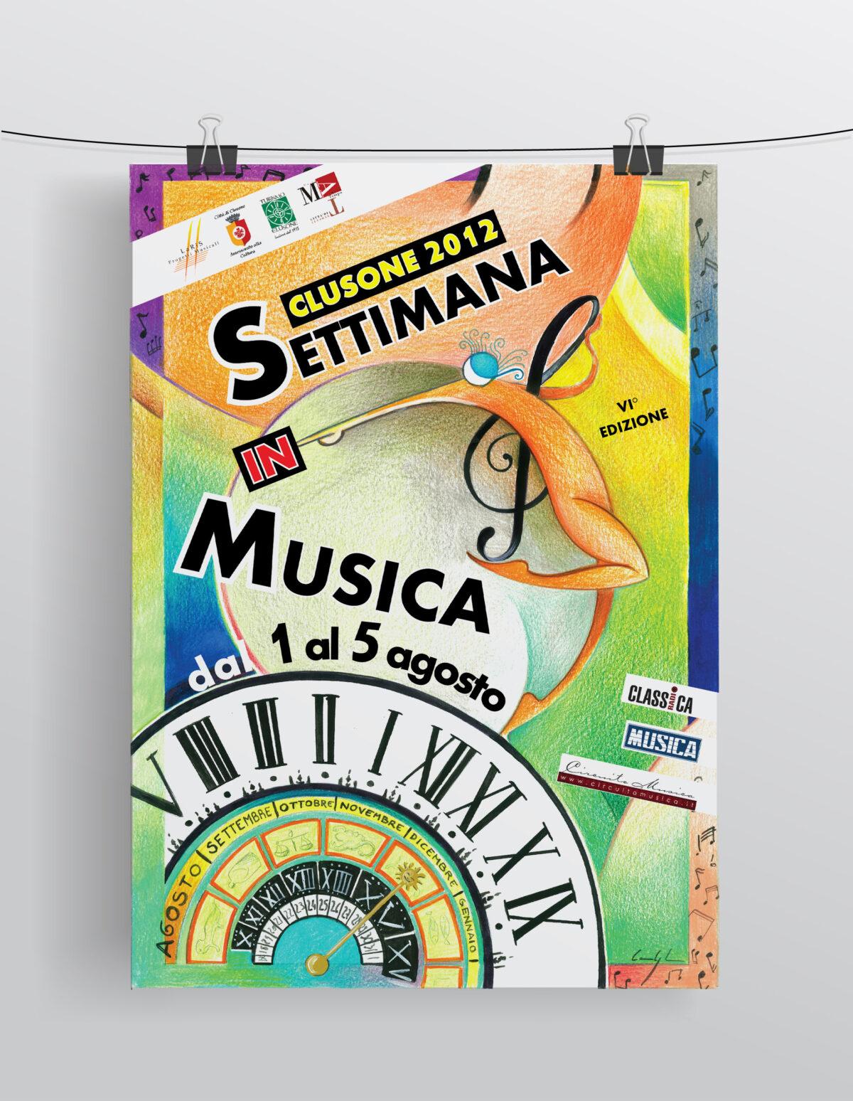 Settimana in musica 2012 - Locandina